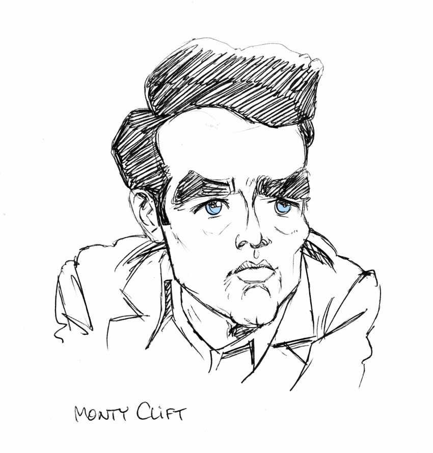 Montgomery Clift by MaxSand70